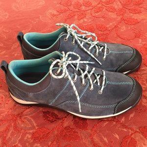 L.L. Bean blue suede shoes!
